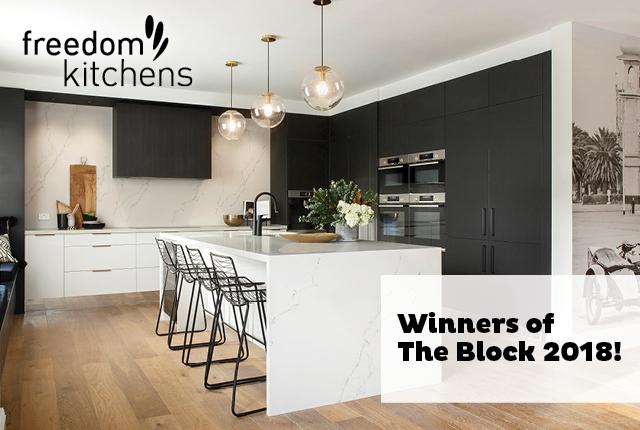 Hayden & Sara Win The Block 2018! | Freedom Kitchens