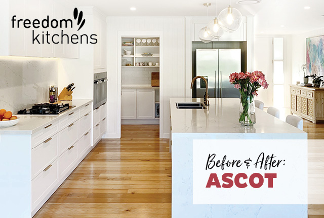 Marvelous Kitchen Before After Ascot Freedom Kitchens Best Image Libraries Thycampuscom