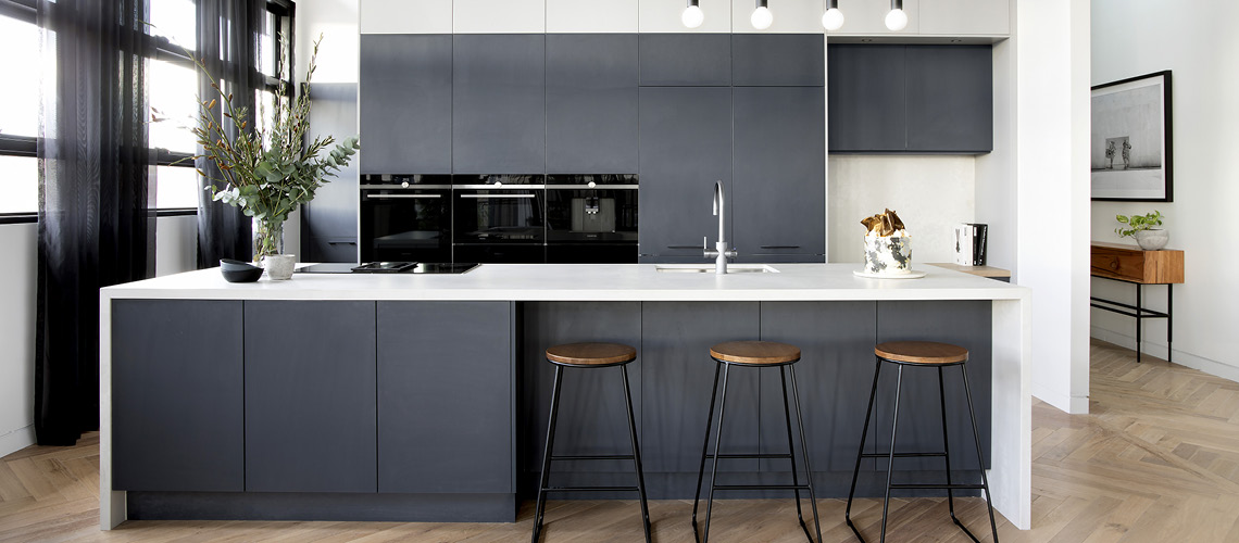 Design ideas for Galley with Island Bench kitchen layouts