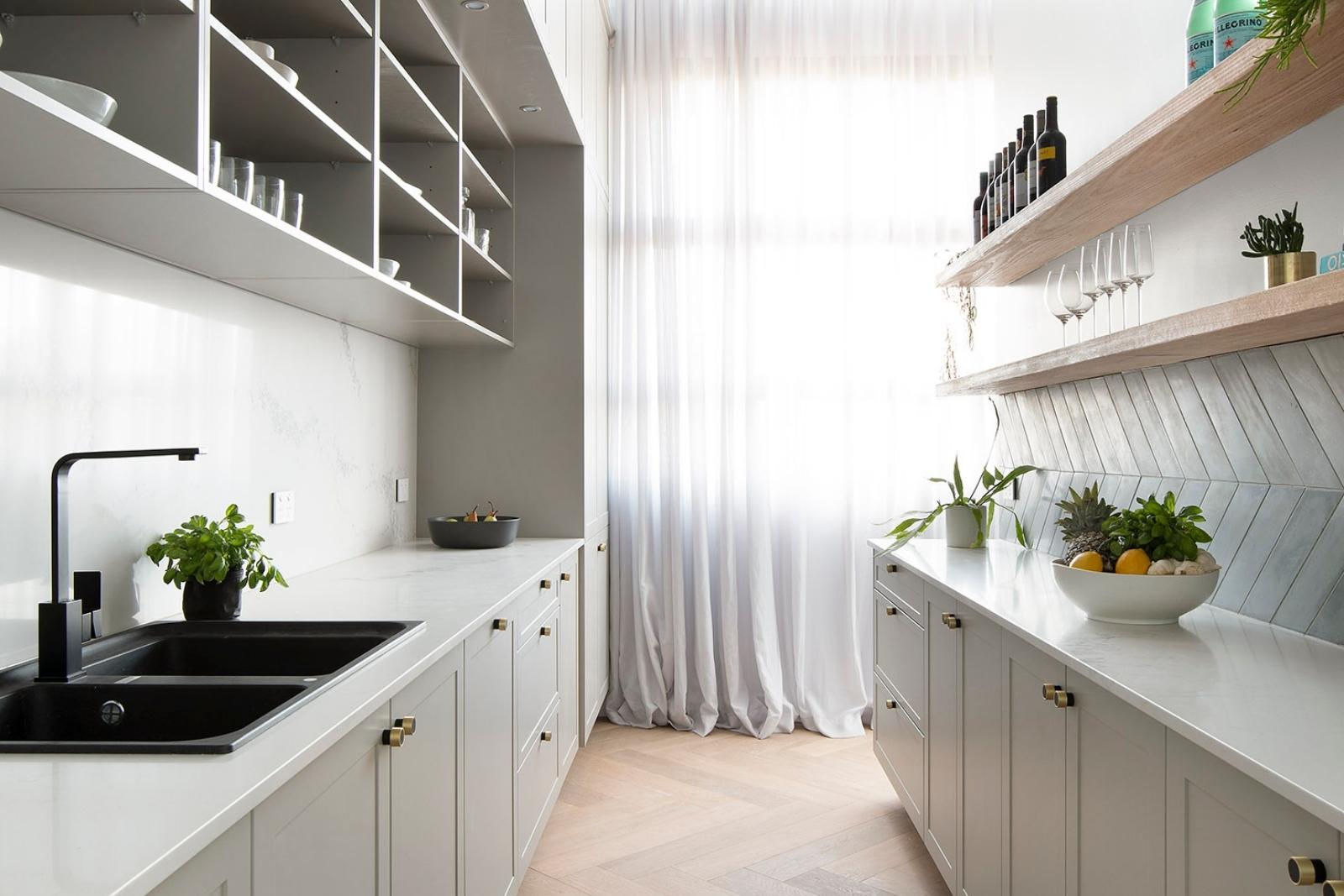Galley Layout Freedom Kitchen